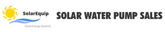 Solar water pump sales