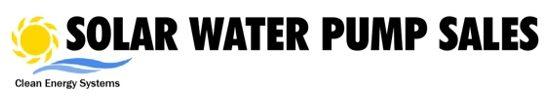 Solar water pump sales